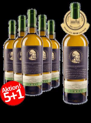 6-ER Weinpaket Budureasca  Premium Tamaioasa Romaneasca 2017