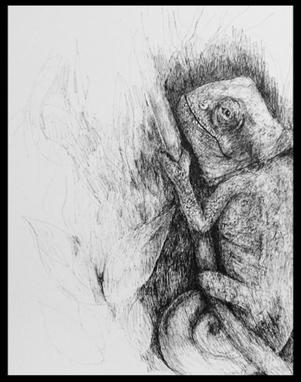 #inspiriencer Karmachamäleon by artcrestani - chamailéōn, griech.  Erdlöwe.
