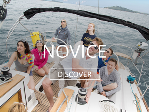 Sailing holidays for novices