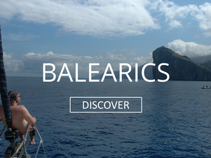 Sailing holiday in the balearics