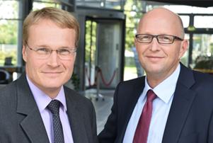 Karsten Reinholz und Holger Denzau
