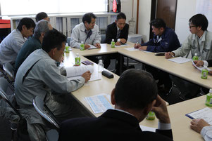 品質管理に関する会議