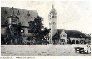 Zeughaus mit Feuerwehrhaus
