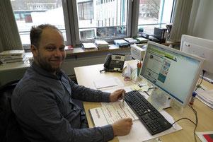 Philipp Gramse vom städtischen Integrationsreferat