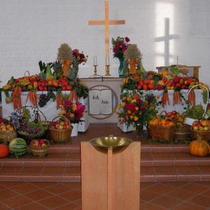 Der Erntefest-Gottesdienst in der Bonhoeffergemeinde