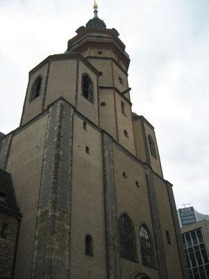 """In der Leipziger Nikolai-Kirche kam es besonders 1989 zu den sogenannten """"Montagsgebeten"""" und """"Montags-Demonstrationen"""""""
