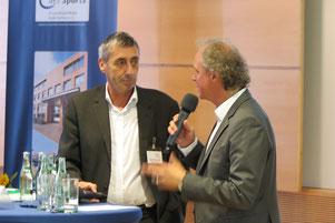 Norbert Engelhardt und Clemens Löcke