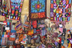 l'artisanat péruvien est très coloré !