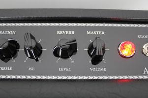 Reverb und Master-Volume - Blackstar Artist 30