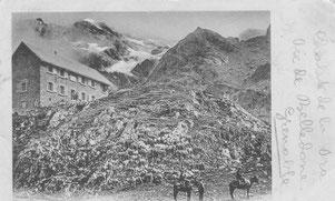 Refuge de la Pra en 1903
