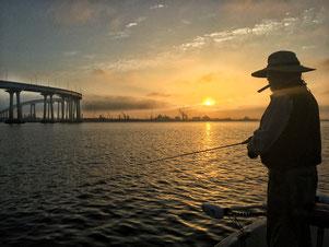 Sunrise just south of Coronado Bridge