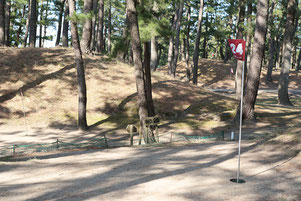 テクノポート福井総合公園のマレットゴルフ場