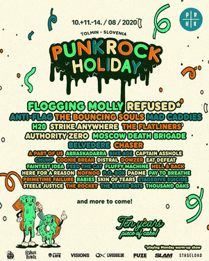 Punk Rock Holiday in Tolmin Slowenien