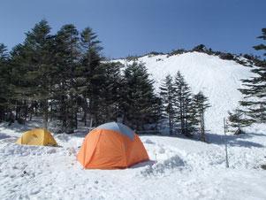 天狗岳 雪山 登山 ガイド ツアー