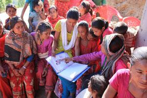 Nepal Hilfe Weltbevölkerung Bevölkerungswachstum Explosion BISS Verhütung