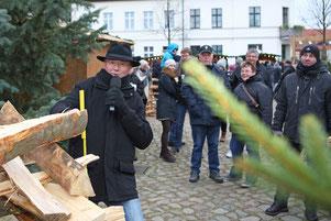 Angermünder Gänsemarkt, Moderator Angermünde, Bernd Winkler Angermünde,