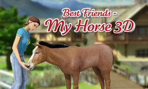 Title Screen Best Friends - My Horse 3D