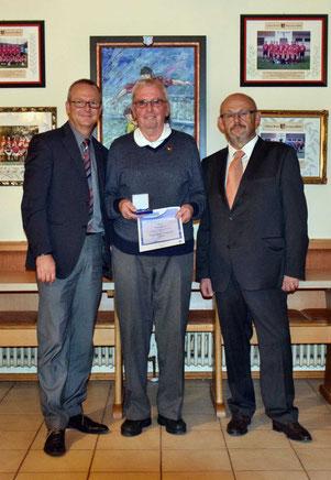Seit 1.1.1948 ist Willi Meyer Mitglied beim TSV St. Johannis