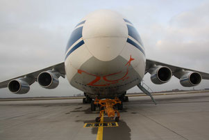 Less loads and flights – Volga-Dnepr's An-124 fleet is underutilized  /  source: hs