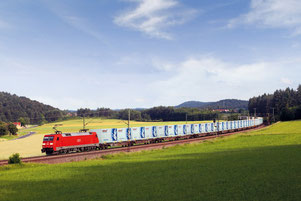 Zhengzhou > Hanover is Hellmann's fourth transcontinental rail link  /  image: Hellmann