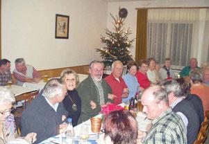 Schwarzwaldverein Abschlusswanderung 06.12.2006 im Grünen Baum