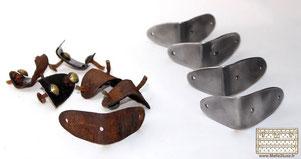 Fabrication d'équerre en laiton ou acier pour malle louis vuitton et goyard