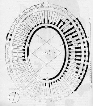 pianta dell'Anfiteatro