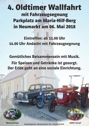 Oldtimerwallfahrt am Maria-Hilf-Berg - Neumarkt TV