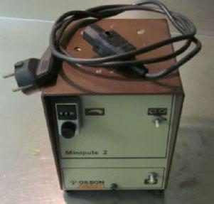 Gilson Abimed Minipuls 2 Schlauchpumpe für die Chromatographie/ Chemie