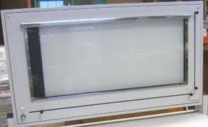 Röntgenbildbetrachter L-KS 105x43cm für Medizin und Praxis