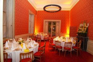 Hochzeitstafel im Palais Schönburg