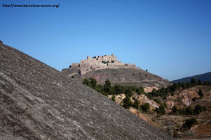 барселона-экскурс, замок кардоны, замок кардоны и соляная гора