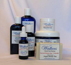 All in One Set - Argan Oil, Face Cream, Body Butter & Beauty Bar