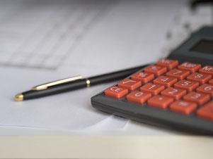 accountant berekend de omzetgroei