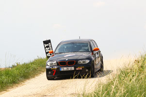 BMW 130i Rallyeteam Hartmann. Motorsport