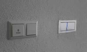 Panik Schaltung im Schlafzimmer von Epp & Zorn