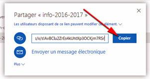Atelier info du 30 mars 2017