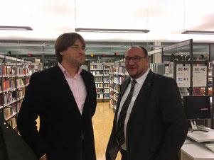 Im Gespräch mit Robert Schwarz, Pressesprecher im Landratsamt