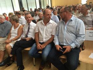 Mit Martin Hahn MdL und Bürgermeister Manfred Härle