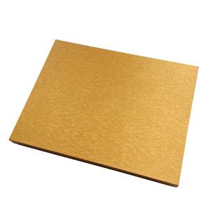 Caja bufanda oro lijado