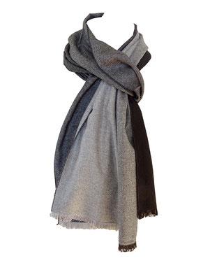 Bufanda tonos grises