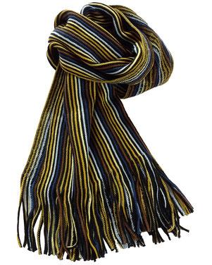 Bufanda listados multicolor