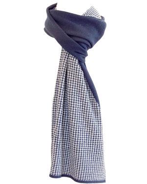 Bufanda invernal en cachemira