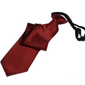 Corbata laboral burdeos