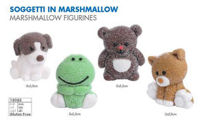 soggetti in marshmallow