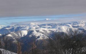 Nos montagnes vues d'Iraty