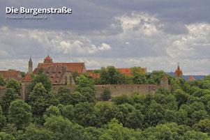 die Burgenstraße - Rothenburg ob der Tauber