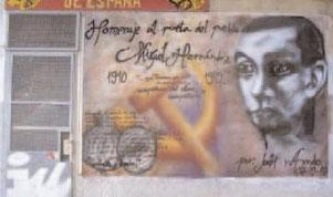 Fachada de la sede de IU-PCE en San Cipriano