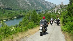 In Richtung Pociteli im Neretva Tal