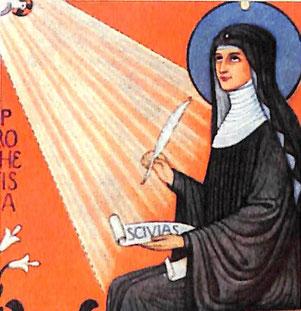 Hl. Hildegard von Bingen (1098-1179)